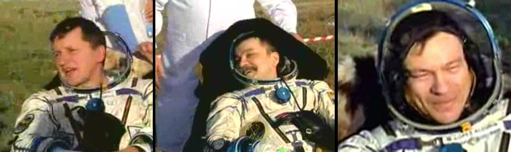 Home Again: Space Tourist, ISS Crew Return to Earth