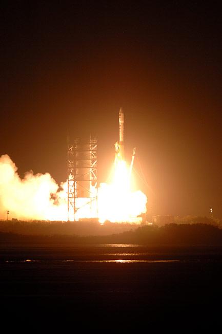 Minotaur Rocket Orbits Missile Defense Agency Research Satellite