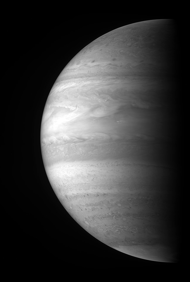 NASA Probe Reveals New Views of Jupiter