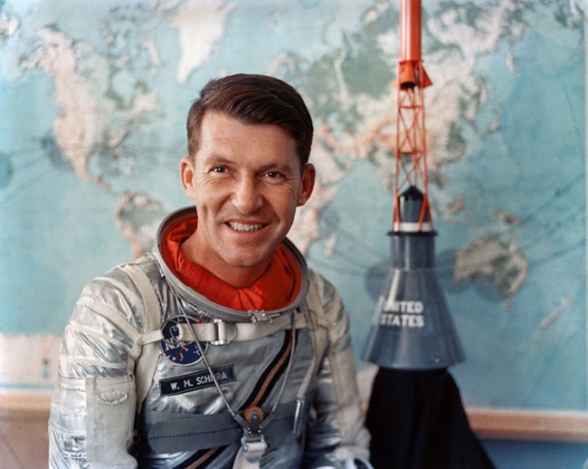 Wally Schirra: Mercury, Gemini & Apollo Astronaut