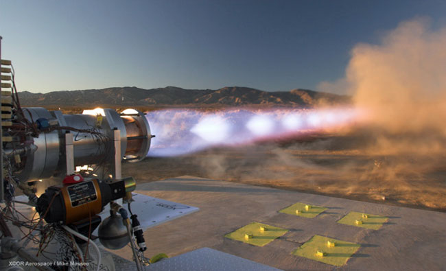 Methane Rocket Engine Successfully Tested