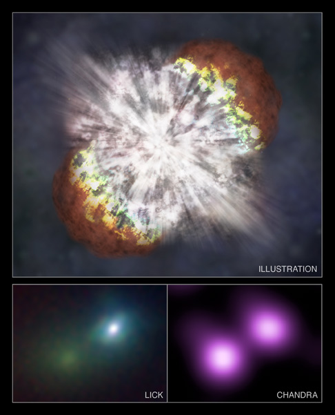 Astronomers Astonished by 'Monstrous' Star Explosion