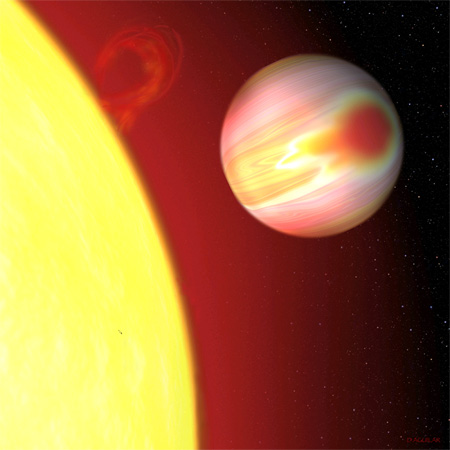Scientists Map Weather on Distant World