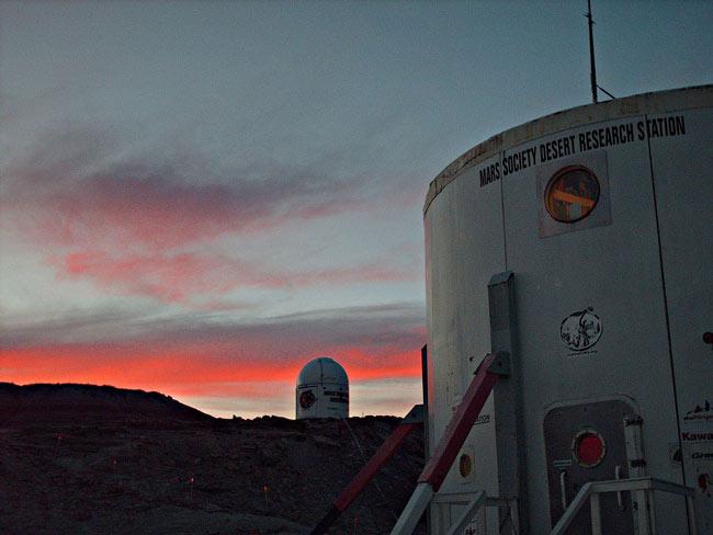 A Mock Mars in Utah