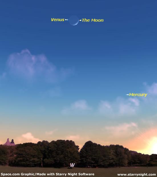 Moon and Venus Pair Up May 19