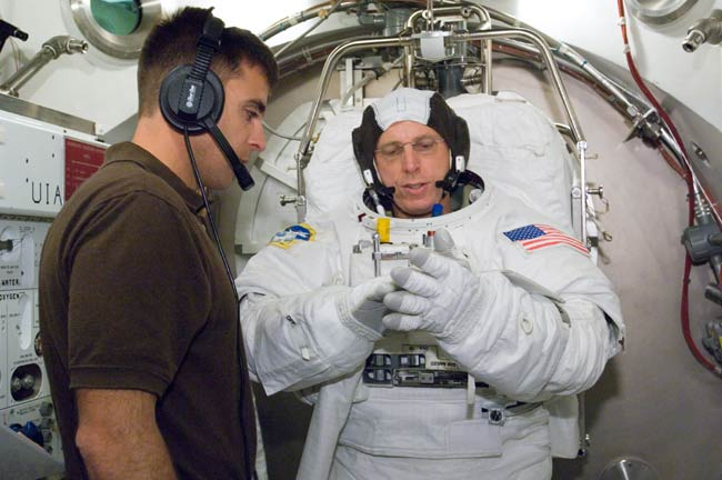 Training Hits High Gear for Next Space Station Astronaut