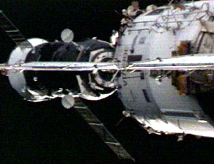 Disposable Russian Cargo Ship Departs Space Station