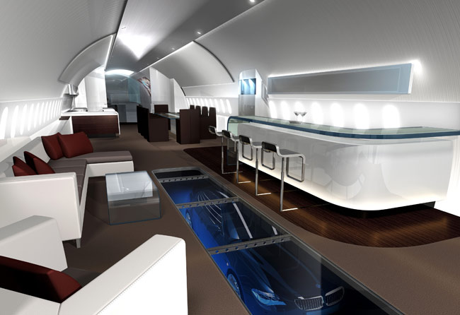 Boeing names first dreamliner private owner unveils 747 for Interior 787 dreamliner