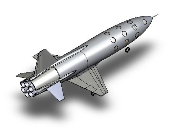 Benson Space Unveils New Dream Chaser Design