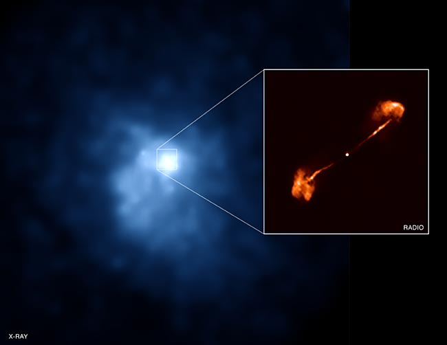 Extreme Energy Burst Detected by Chandra Telescope