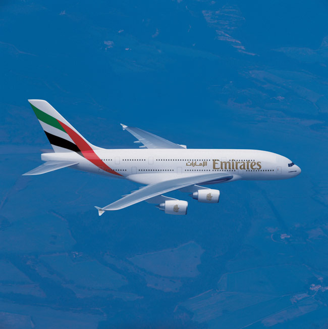 Emirates A380s to Establish New Airliner Seat Record
