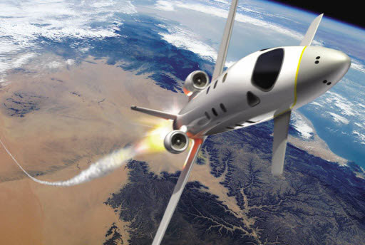 Europe Unveils Space Plane for Tourist Market