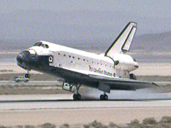 Back on Earth: Atlantis Shuttle Crew Lands Safely After Successful Flight