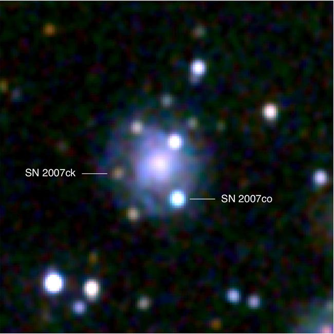 Astronomers Spot Double Star Explosion