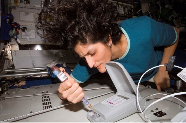 Handheld Microorganism Detector Tested Aboard Space Station