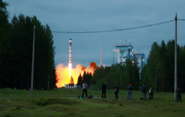 German Spy Satellite Launches into Space