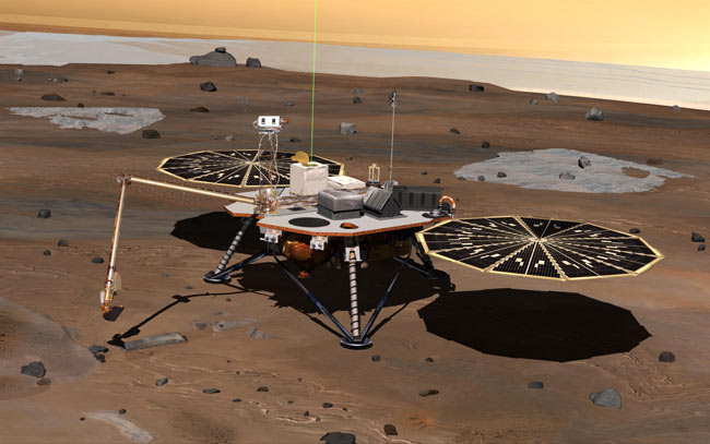 NASA Spacecraft Set to Study Mars' Icy North Pole