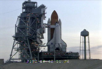 NASA's Shuttle Endeavour Returns to Launch Pad