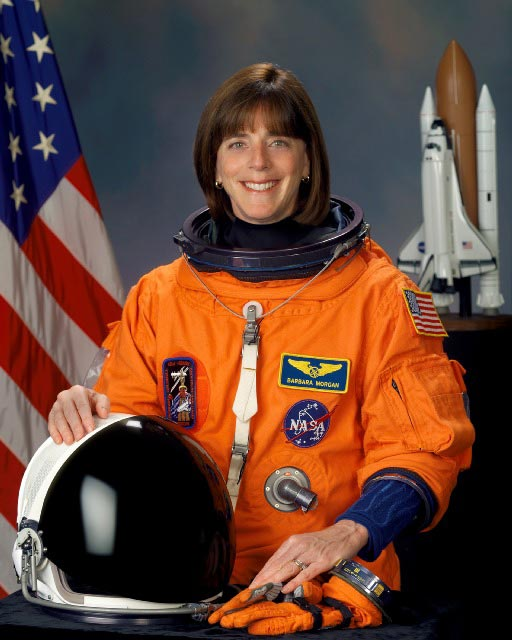 Educator Astronaut Biography: Barbara R. Morgan