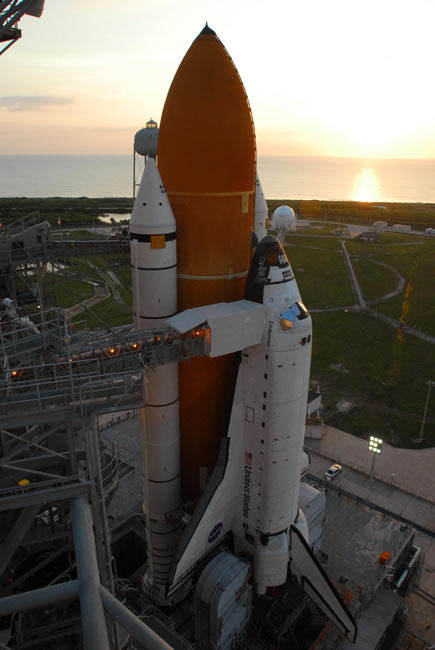 NASA: Space Shuttle Endeavour's Cabin Now Leak-Free