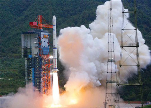 China Insists There's No Asia Space Race