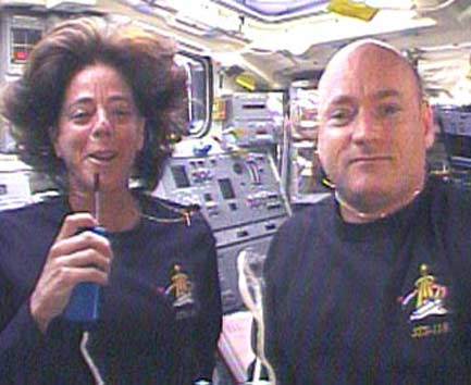 Shuttle Astronauts to Dock at Space Station Today