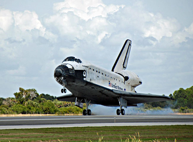 NASA: Dinged Space Shuttle Endeavour Performed Well