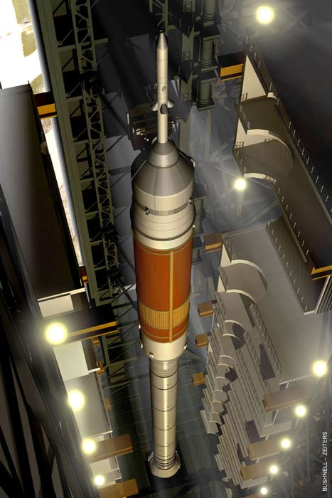 Boeing to Build Upper Stage of NASA's Ares I Rocket