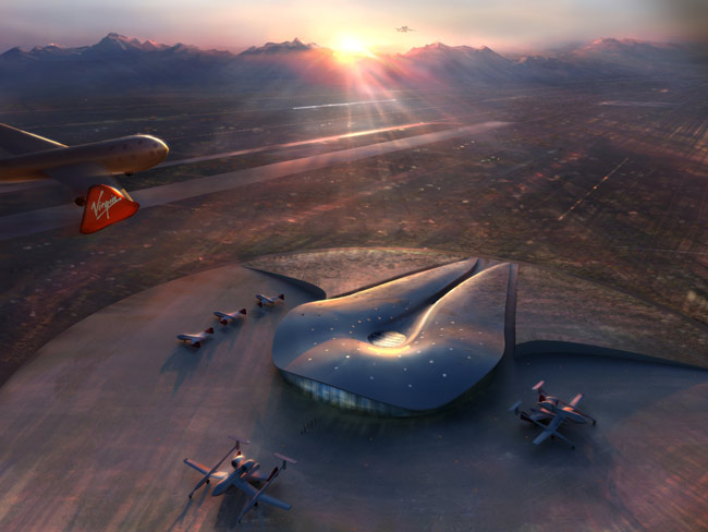 Spaceport America: First Looks at a New Space Terminal