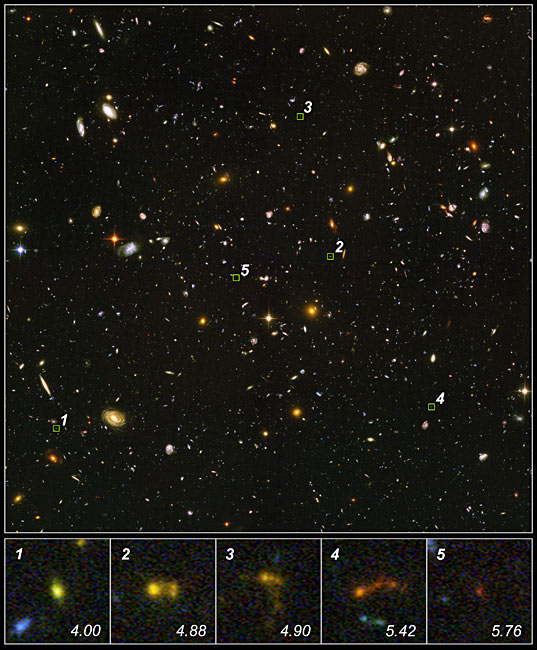 Tiny Galactic Building Blocks Spotted