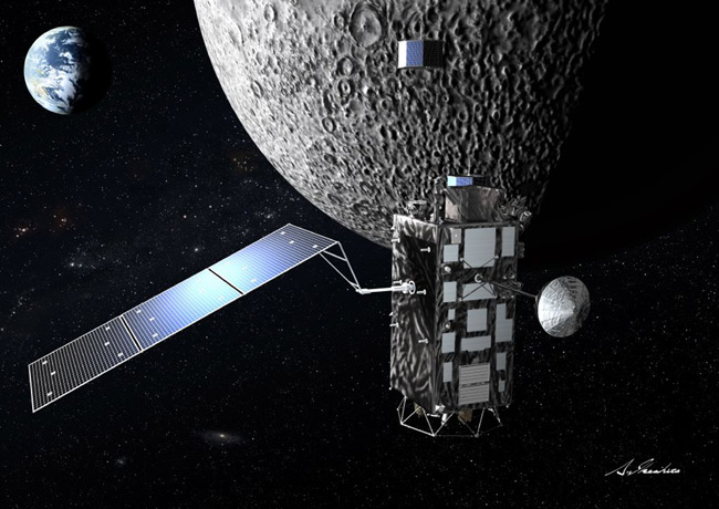 Japan Launches Kaguya Probe on Moon Mission