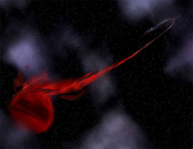 Bizarre Parasitic Star Found