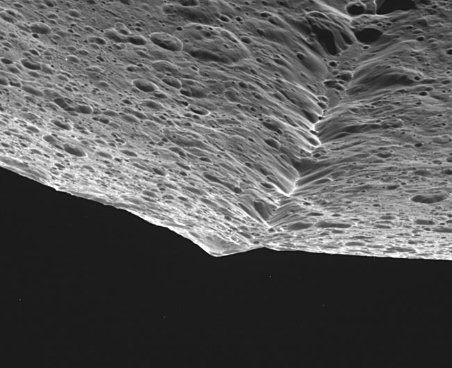 Saturnian Moon Gets Glamour Shots