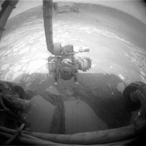 Opportunity Dives into Mars Crater