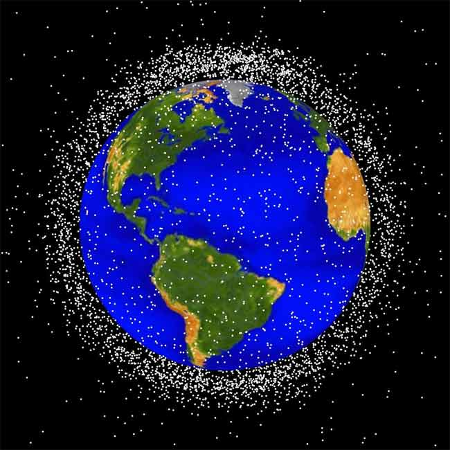 Chinese Space Junk Won't Endanger Space Station Crew
