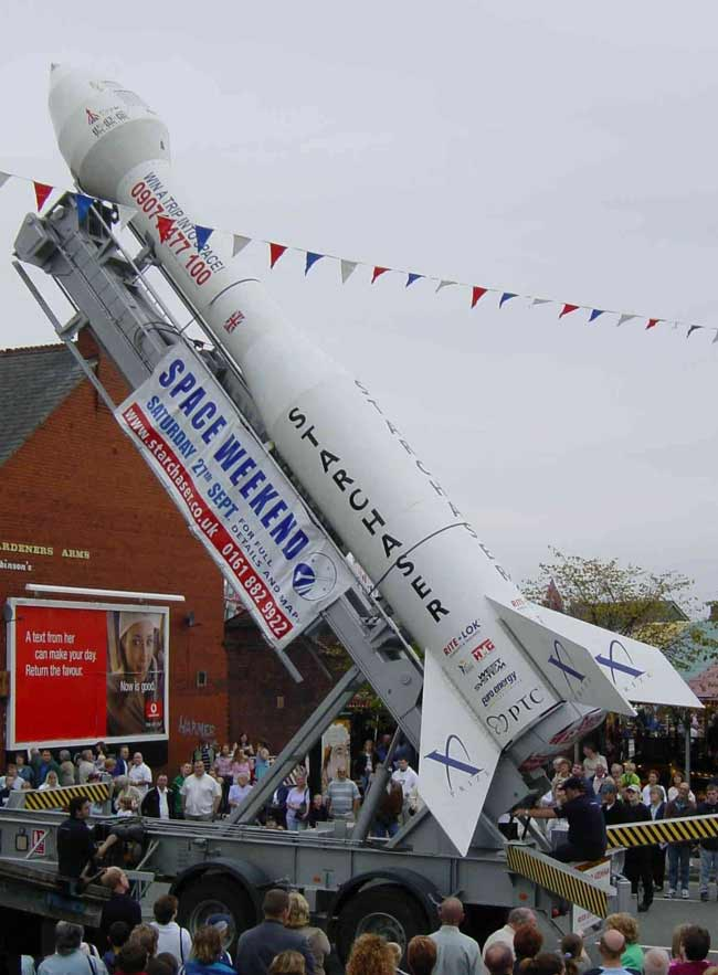 Rockets to Roar at Air and Space Expo