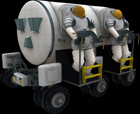 NASA Plans Bigger Moon Base, Sporty Rovers for Future Missions