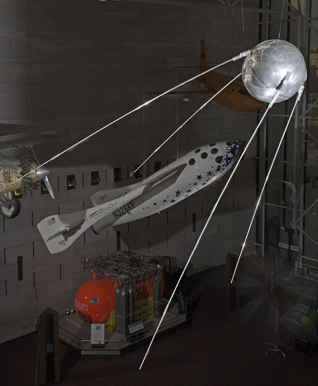 Sputnik Replica at the National Air & Space Museum