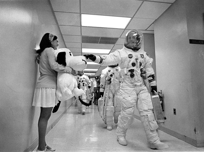 Museum Soars 'To The Moon' with Snoopy in Space Exhibit