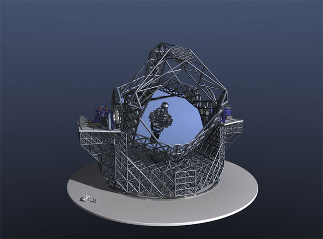 Next-Generation Telescopes Excite Astronomers