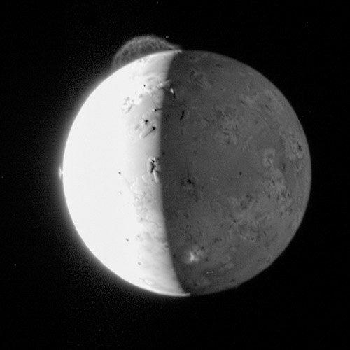 Mystery of Io's Atmosphere Solved