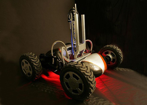 Robotic Prospector Under Development at Carnegie Mellon