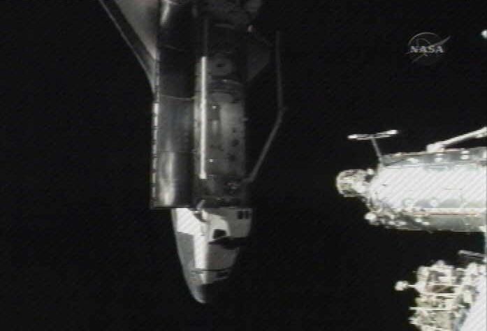 inside space ship docking station - photo #8