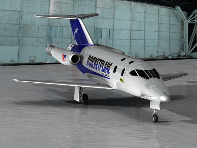 Rocketplane Global Overhauls Suborbital Craft