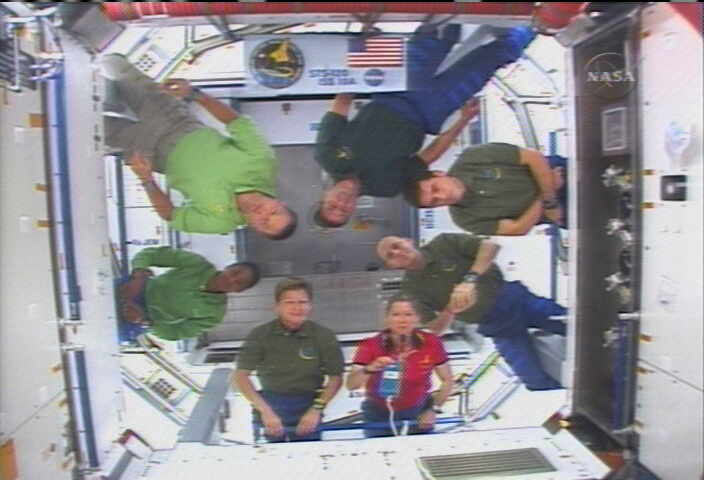 Busy Shuttle Flight Goes Smoothly, Astronauts Say