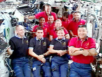 Astronauts Ready for Space Station Fix