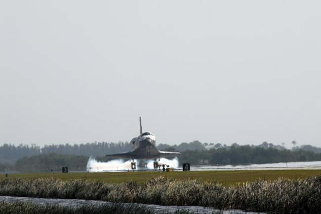 NASA Relishes Shuttle Flight's Success