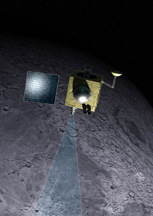 First Indian Moon Probe Goes Into Lunar Orbit