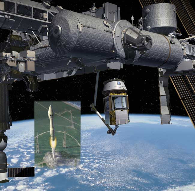 Chicago Firm Protests Space Station Cargo Contract