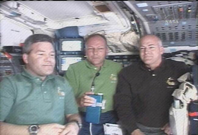Shuttle Astronaut Feeling 'Very Fine' After Malady